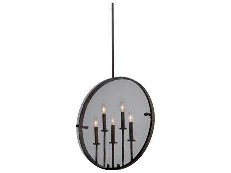 Artcraft Lighting Harbor Point Oil Rubbed Bronze Five-Light 3.5'' Wide Pendant Light ACAC10301OB