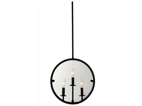 Artcraft Lighting Harbor Point Oil Rubbed Bronze Three-Light 4'' Wide Pendant Light