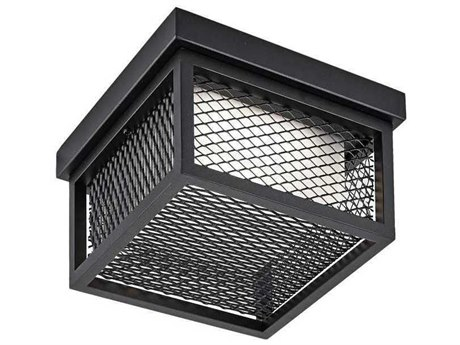 Artcraft Lighting Innovation Black 9'' Wide LED Outdoor Ceiling Light ACAC9176BK