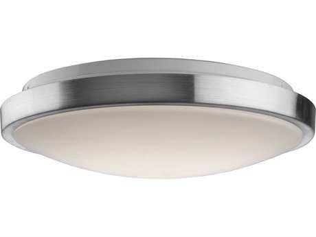 Artcraft Lighting LED Brushed Nickel 14'' Wide Flush Mount Light ACAC7360