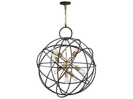 Artcraft Lighting Lux Oil Rubbed Bronze Seven-Light 33'' Wide Chandelier