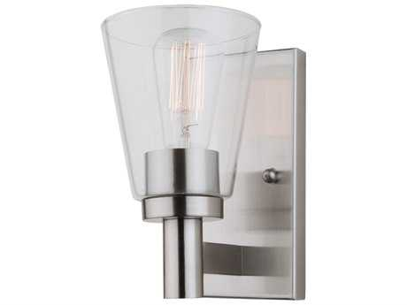 Artcraft Lighting Lux Brushed Nickel Wall Sconce ACAC10767BN