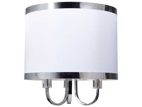 Artcraft Lighting Madison White Three-Light 16'' Wide Mini Chandelier ACSC433WH