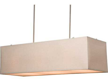 Artcraft Lighting Mercer Street Oatmeal Five-Light 15'' Wide Island Light ACSC543OM