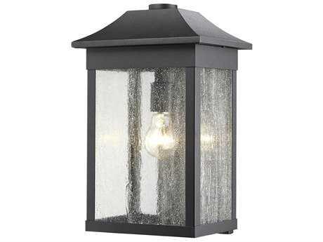 Artcraft Lighting Morgan Black 10'' Wide Outdoor Wall Light ACSC13102BK