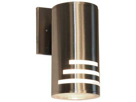 Artcraft Lighting Nuevo Stainless Steel Outdoor Wall Light ACAC8004SS