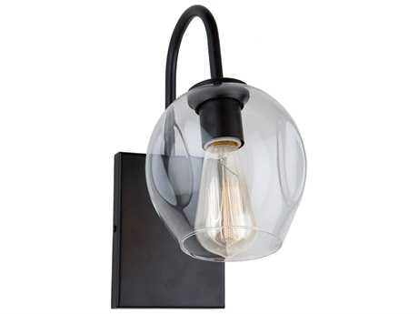 Artcraft Lighting Organic Black 6'' Wide Wall Sconce ACJA14021BK