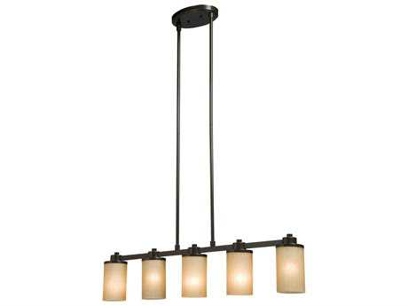 Artcraft Lighting Parkdale Oil Brushed Bronze Five-Light Island Light ACAC1306OB
