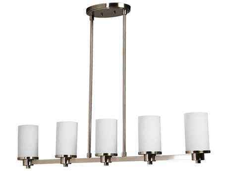 Artcraft Lighting Parkdale Polished Nickel Five-Light Island Light ACAC1315PN