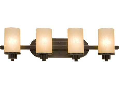 Artcraft Lighting Parkdale Oil Brushed Bronze Four-Light Vanity Light ACAC1304OB