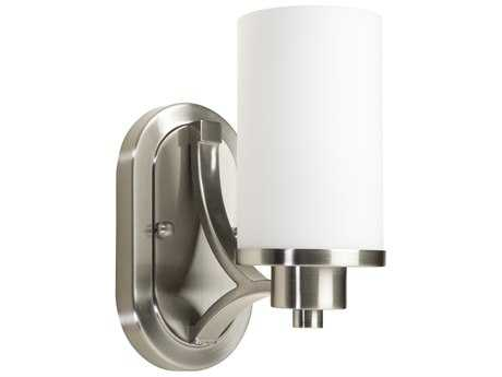 Artcraft Lighting Parkdale Polished Nickel with Opal White Glass Wall Sconce ACAC1301PN