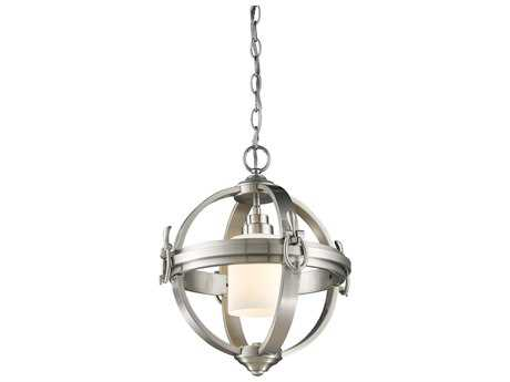 Artcraft Lighting Pharmacy Brushed Nickel 14'' Wide Chandelier ACSC13021BN