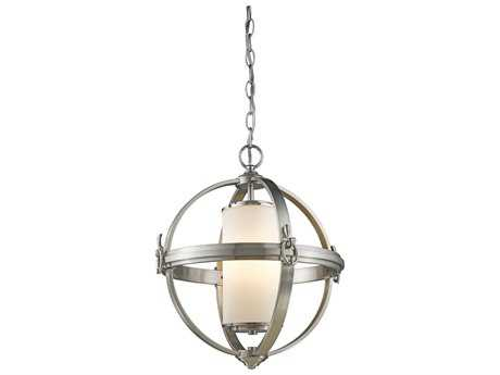 Artcraft Lighting Pharmacy Brushed Nickel Four-Light 20'' Wide Chandelier ACSC13022BN