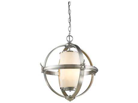 Artcraft Lighting Pharmacy Brushed Nickel Four-Light 25'' Wide Chandelier ACSC13023BN