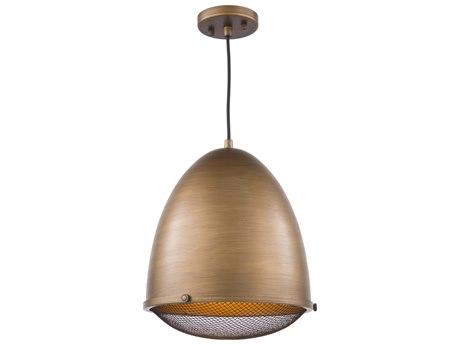 Artcraft Lighting Retro Loft Bronze 12'' Wide Pendant ACAC10312