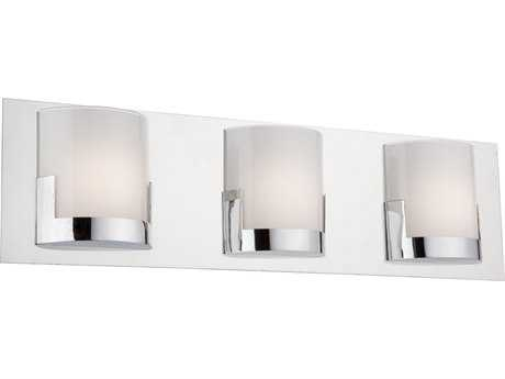 Artcraft Lighting Rialto Chrome Three-Light 22'' Wide Wall Sconce ACAC7223CH