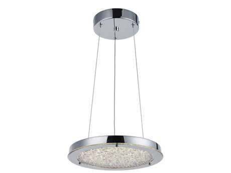 Artcraft Lighting Stardust Chrome 12.25'' Wide Pendant Light ACAC7312CH