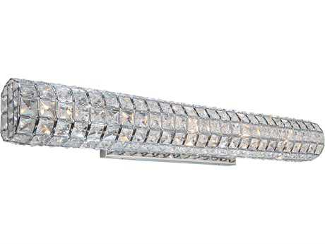 Artcraft Lighting Sterling Chrome Five-Light Wall Sconce ACAC10195