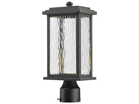 Artcraft Lighting Sussex Black LED Outdoor Post Light ACAC9073BK