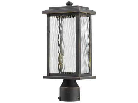 Artcraft Lighting Sussex Bronze LED Outdoor Post Light ACAC9073OB