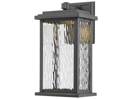 Artcraft Lighting Sussex Black 13'' LED Outdoor Wall Light ACAC9070BK