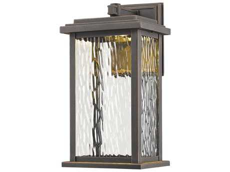 Artcraft Lighting Sussex Bronze 13'' LED Outdoor Wall Light ACAC9070OB