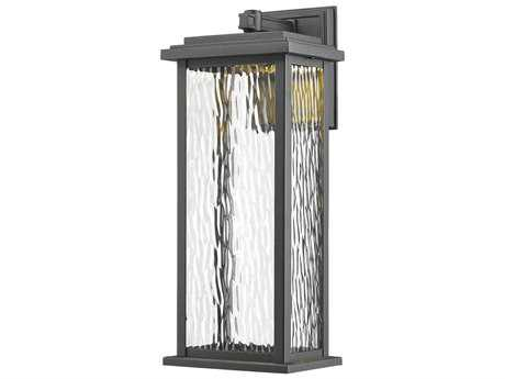 Artcraft Lighting Sussex Black 17'' LED Outdoor Wall Light ACAC9071BK