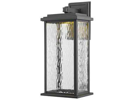 Artcraft Lighting Sussex Black 19'' LED Outdoor Wall Light ACAC9072BK