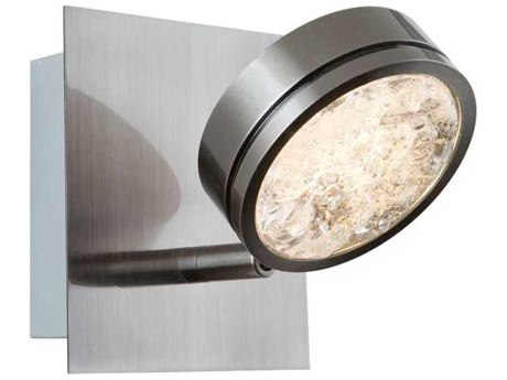 Artcraft Lighting Terranova Black Pearl Nickel 6'' Wide LED Wall Sconce ACAC7541