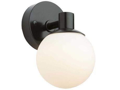 Artcraft Lighting Tilbury Semi Gloss Black LED Vanity Light ACAC7091BK