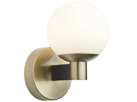 Artcraft Lighting Tilbury Matte Black / Brass LED Vanity Light ACAC7091VB