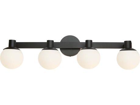 Artcraft Lighting Tilbury Semi Gloss Black LED Vanity Light ACAC7094BK