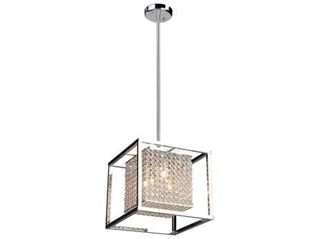 Artcraft Lighting Vega Stainless Steel Four-Light Pendant Light ACAC10324