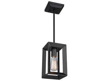 Artcraft Lighting Vineyard Matte Black Mini-Pendant ACAC10061