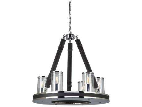 Artcraft Lighting Westchester Chrome Six-Light 22.5'' Wide Chandelier ACSC13056