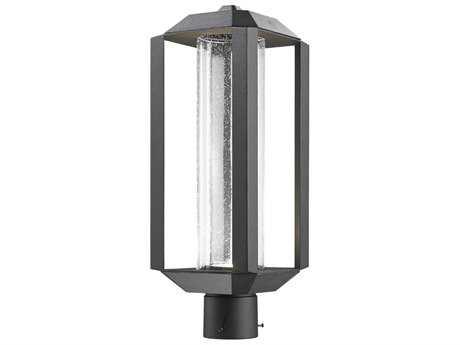 Artcraft Lighting Wexford Black 7'' Wide Outdoor Post Light ACAC9093BK
