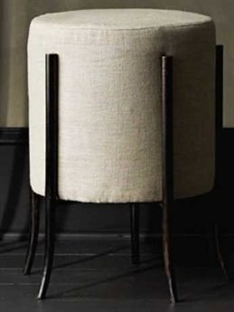 Arteriors Home Barry Dixon Natural Ottoman