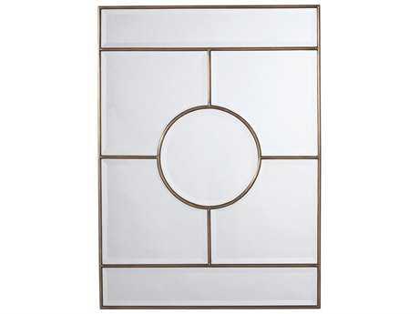 Arteriors Home Bronsan Vintage Brass 32''W x 44''H Rectangular Wall Mirror ARH2198