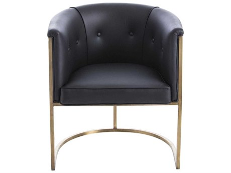 Arteriors Home Calvin Black Accent Chair ARH2671