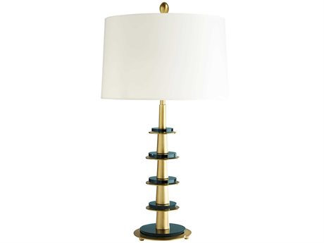Arteriors Home Celerie Kemble Antique Brass Buffet Lamp