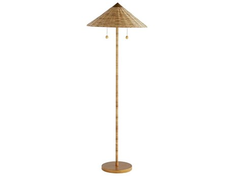 Arteriors Home Celerie Kemble Natural Floor Lamp ARHDC79001