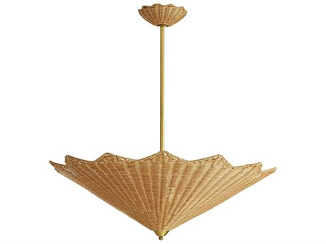 Arteriors Home Celerie Kemble Natural 30'' Wide Pendant ARHDC49011