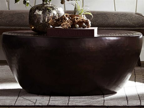 Arteriors Home Clint Bronze 35'' Wide Round Coffee Table ARH6914