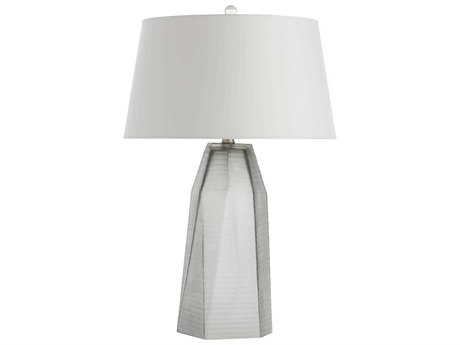Arteriors Home Foster Smoke Glass Buffet Lamp ARH17549258