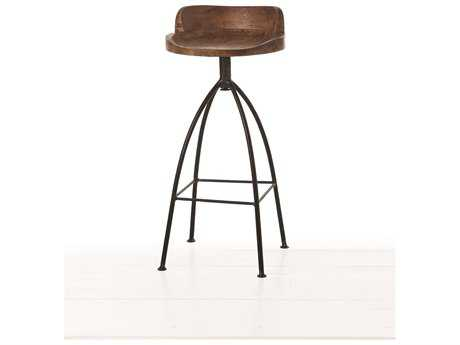Arteriors Home Hinkley Sandblast Antique Wax Barstool ARH2747