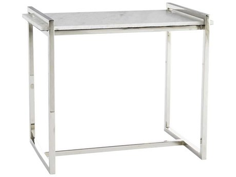 Arteriors Home Hollis Polished Nickel 26'' Wide Rectangular End Table ARH6923