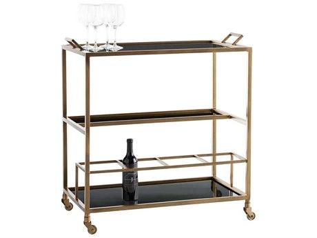 Arteriors Home Jak Antique Brass Cart ARH4395