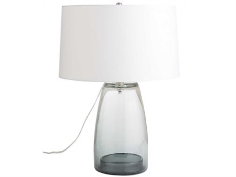 Arteriors Home Jamal Smoke Glass Table Lamp ARH17438348