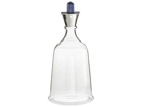 Arteriors Home Levi Clear Lapis Decanter ARH4518
