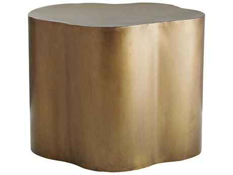 Arteriors Home Lowry Antique Brass 24'' Wide End Table ARH6034